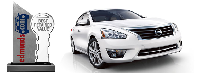 Nissan Altima Awarded Edmunds Trophy For Best Retained Value In 2014