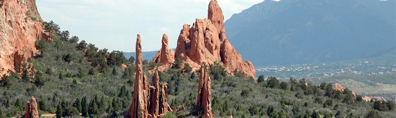 Places to enjoy the outdoors in and around colorado springs colorado springs area for Garden of the gods hiking trails