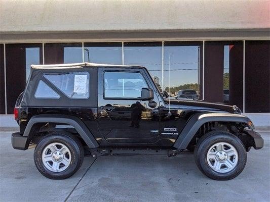 2015 Jeep Wrangler Sport Colorado Springs Co 1c4ajwagxfl737651