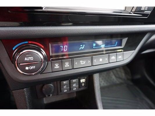 2016 Toyota Corolla S Premium In Colorado Springs Co South Nissan