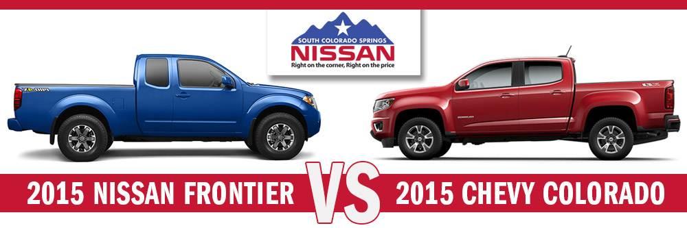 Chevy Colorado Springs >> Nissan Frontier Vs Chevy Colorado Midsize Truck Comparison